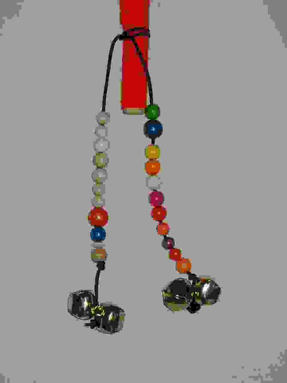 Beads for dancing stick
