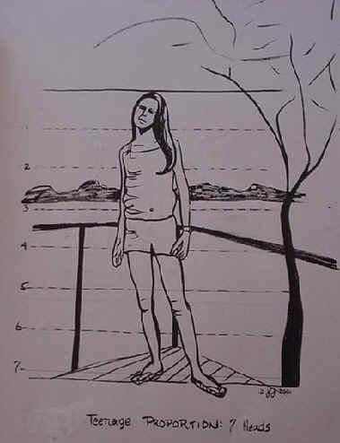 Gallery For gt Simple Pencil Drawings Teenagers