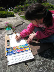 Picture of Alexandria Wong's Other  Daughter Painting in the Park