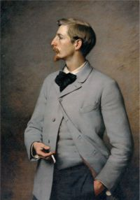 Painting of American Artist Paul Wayland Bartlett