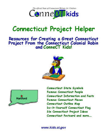Kids doing a connecticut project picture of project helper booklet cover solutioingenieria Image collections